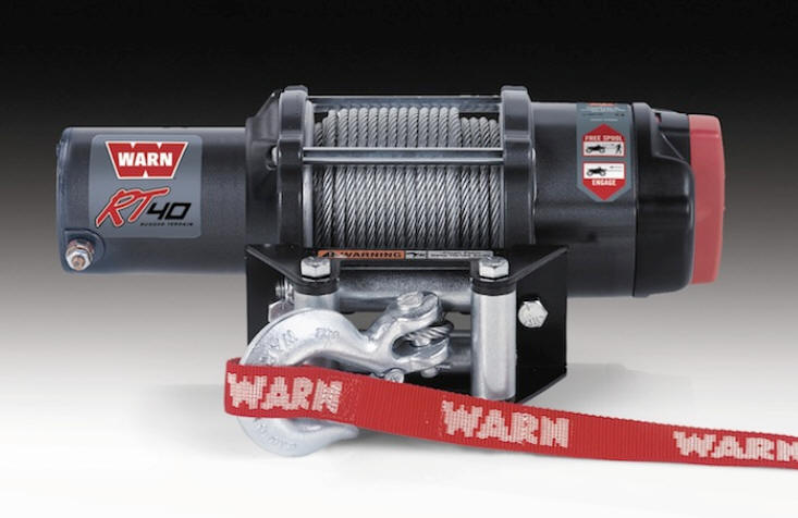 Warn RT 4.0 Winch for Can-Am Commander
